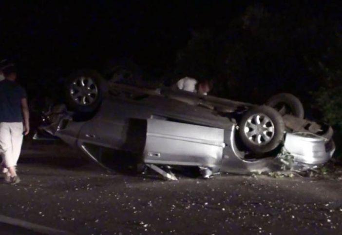Pijana 36-godišnjakinja se zabila autom u brdo pa se prevrnula na krov