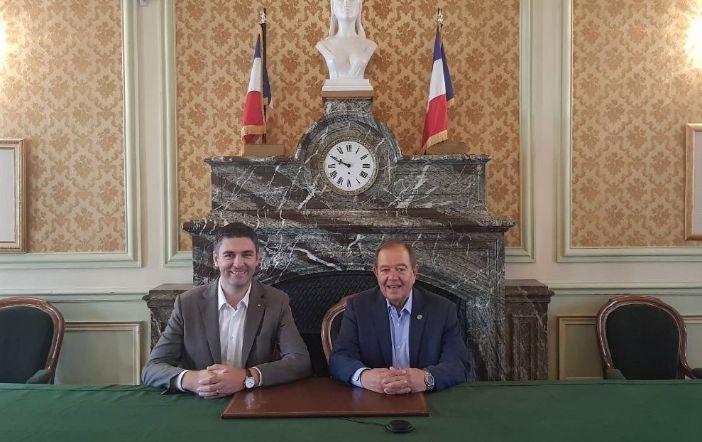 Mato Franković u prvom službenom posjetu gradu prijatelju Rueil Malmaisonu