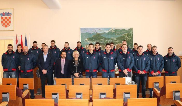 osvajači Kupa Hrvatske, na prijemu u Gradu