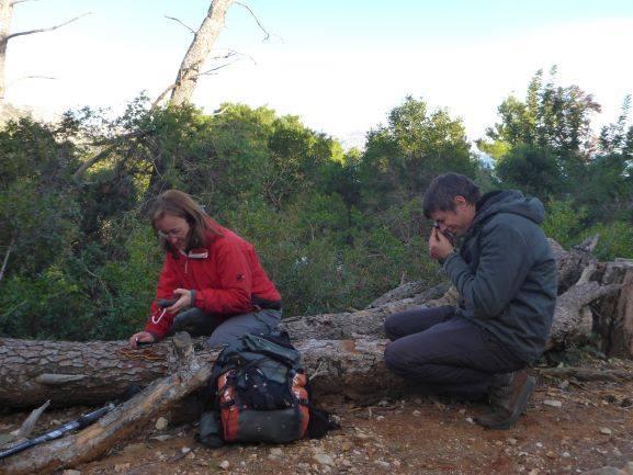 Terensko istraživanje gljiva na Lokrumu