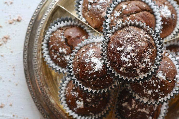 Čokoladni muffini s bananama