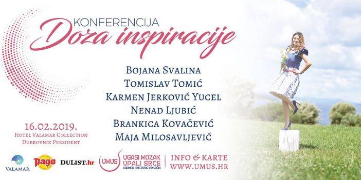 "Konferencija ""Doza inspiracije"" 16.veljače u Presidentu"