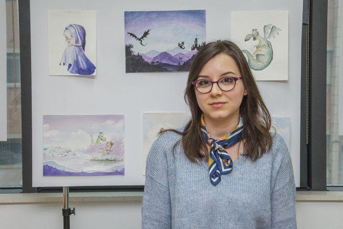 Izložba ilustracija Sandre Sekulić u ogranku Lapad Dubrovačkih knjižnica
