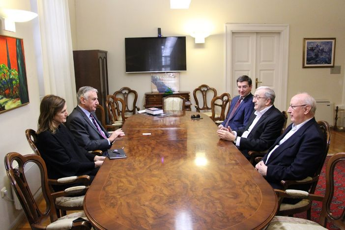 Župan i zamjenica Marević primili predsjednika HKD Napredak Franju Topića