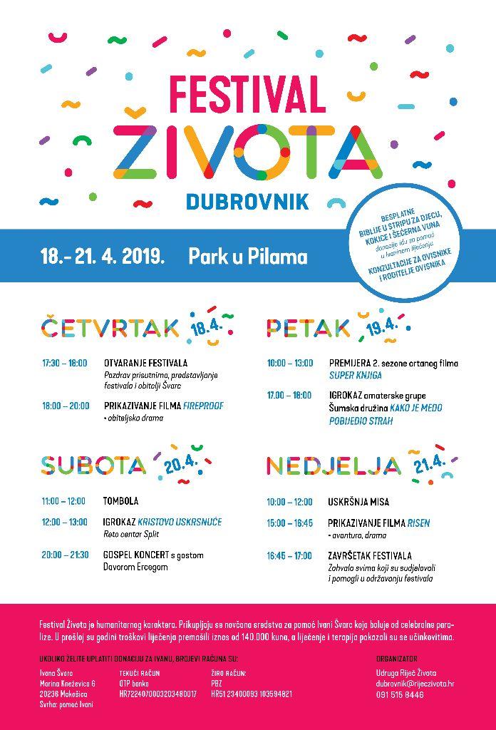 """""""Festival Života"""" Za liječenje Ivane Švarc"""