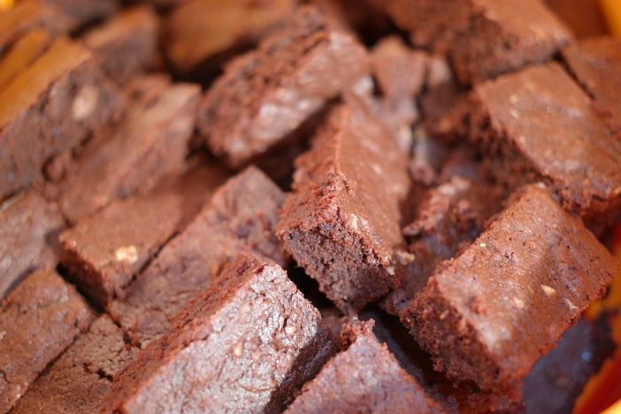 Mekane čokoladne kocke od banane