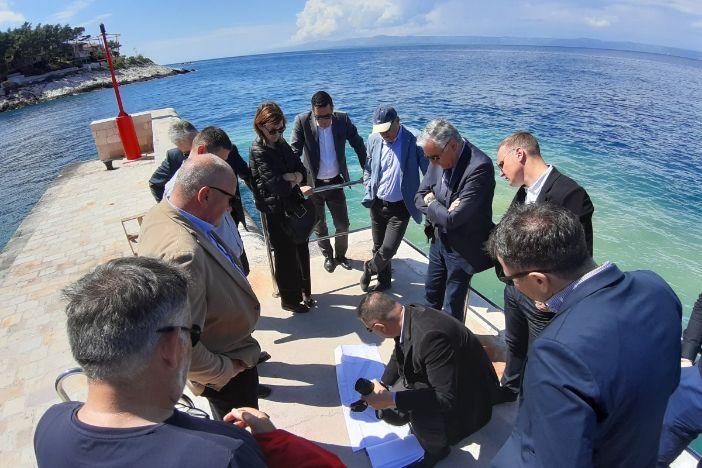 Župan obišao radove i lokacije projekata lučke infrastrukture na Pelješcu i Korčuli