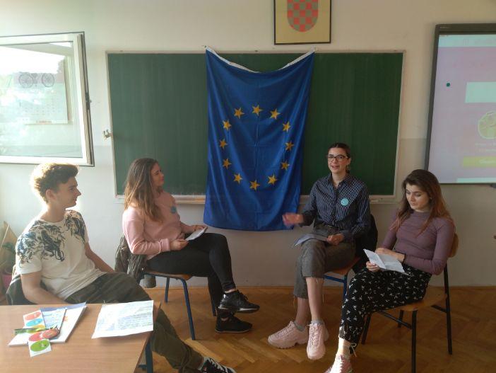 Dubrovačka privatna gimnazija obilježila Europski tjedan